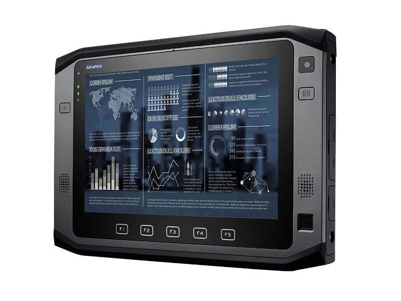 研华10寸高性能工业手持平板电脑PWS-872