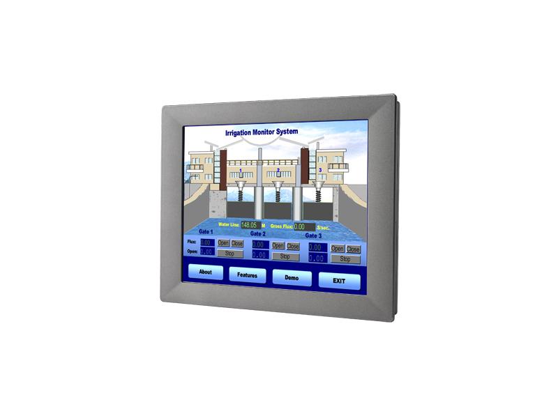 研华15寸宽温操作触摸式工业平板电脑TPC-1551H